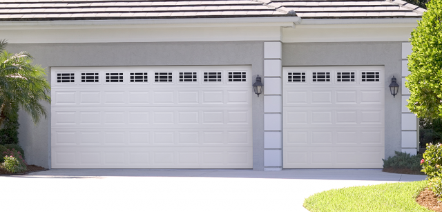 Should You Choose A Large Double Garage Door Or Two Single