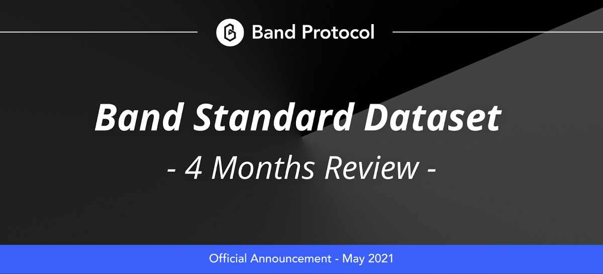Band Standard Dataset—Four Months in Review