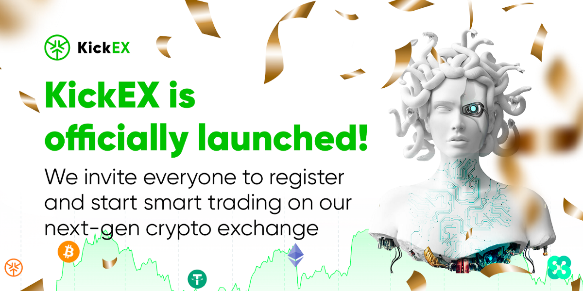 Kickex Is Officially Launched We Invite Everyone To Register And By Kick Ecosystem Official Medium