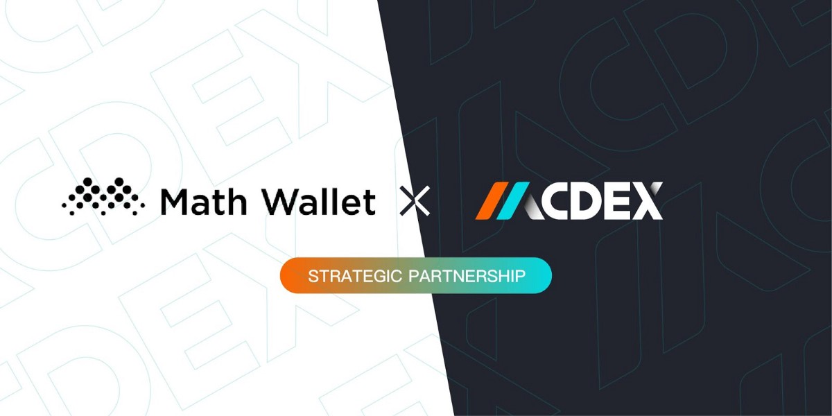 MCDEX forms strategic partnership with MathWallet