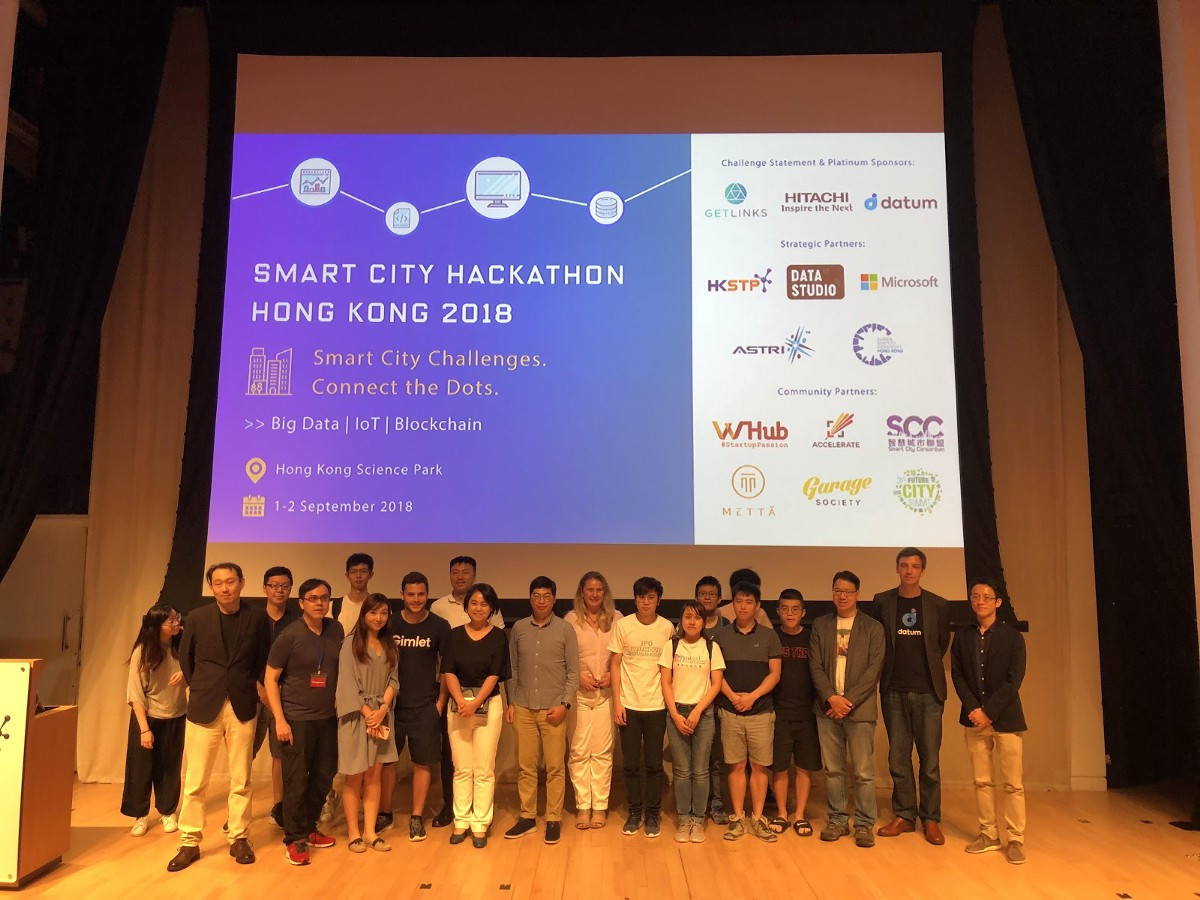 Smart City Hackathon — Hong Kong 2018 - Datum