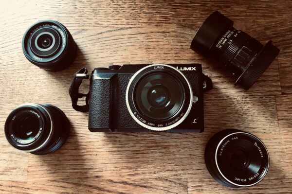 Lumix GX80 and my five lenses.