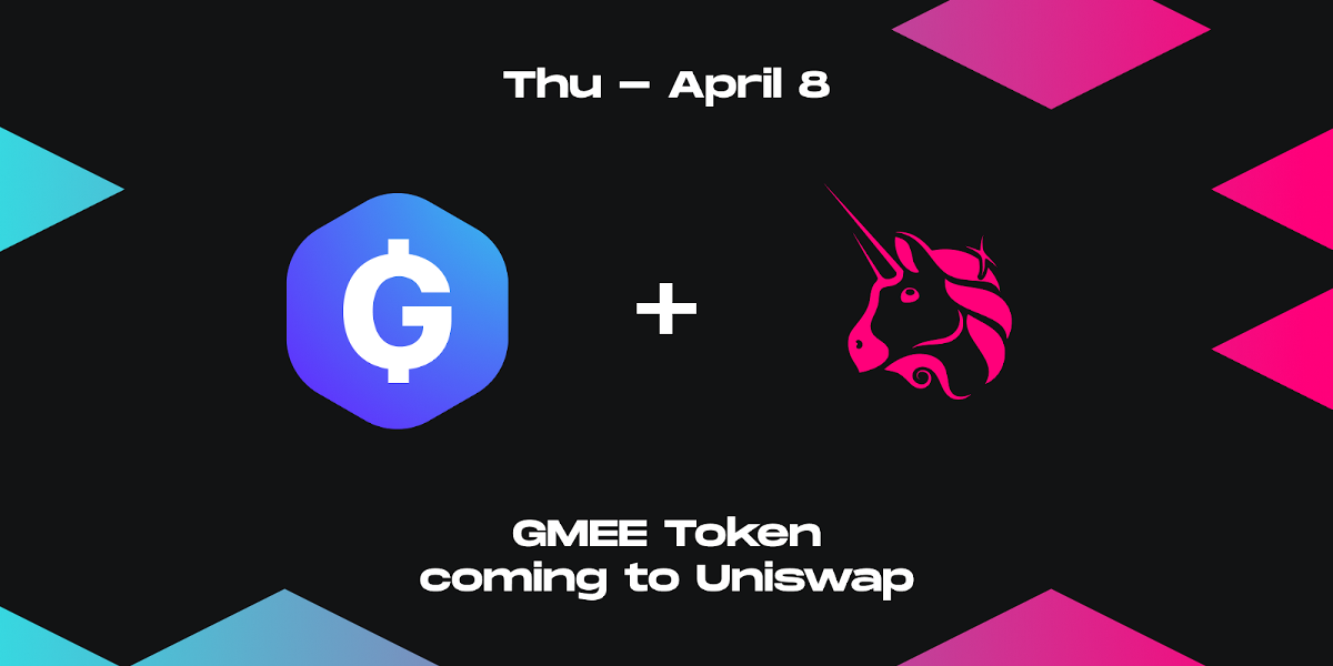 GAMEE Token (GMEE) to launch on Uniswap on 8 April 2021; public presale sold out in 7 minutes…