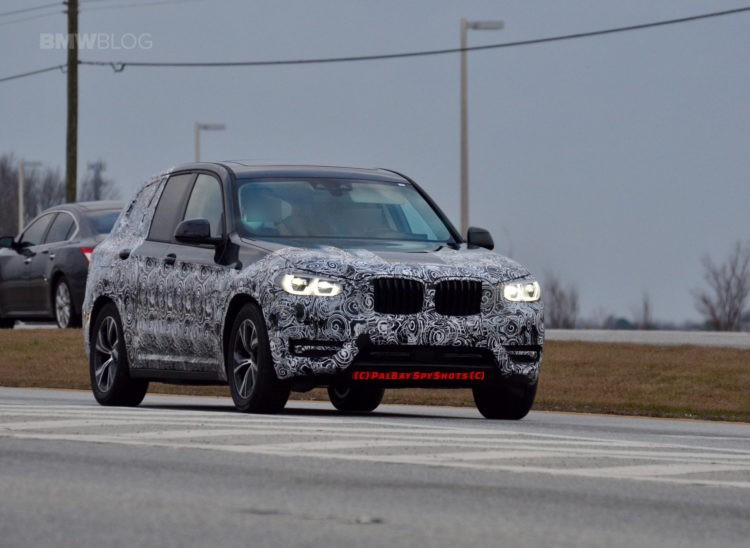 2018 BMW X3 G01 New Spy Shots And Official Release Date >> Spy Photos 2018 Bmw X3 Shows New Wheel Design Benneth