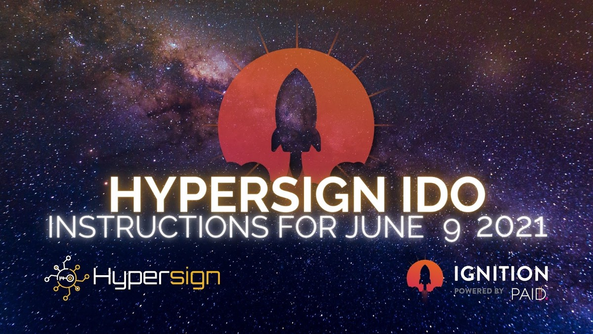 Hypersign: Whitelist Lottery Winners and IDO Details