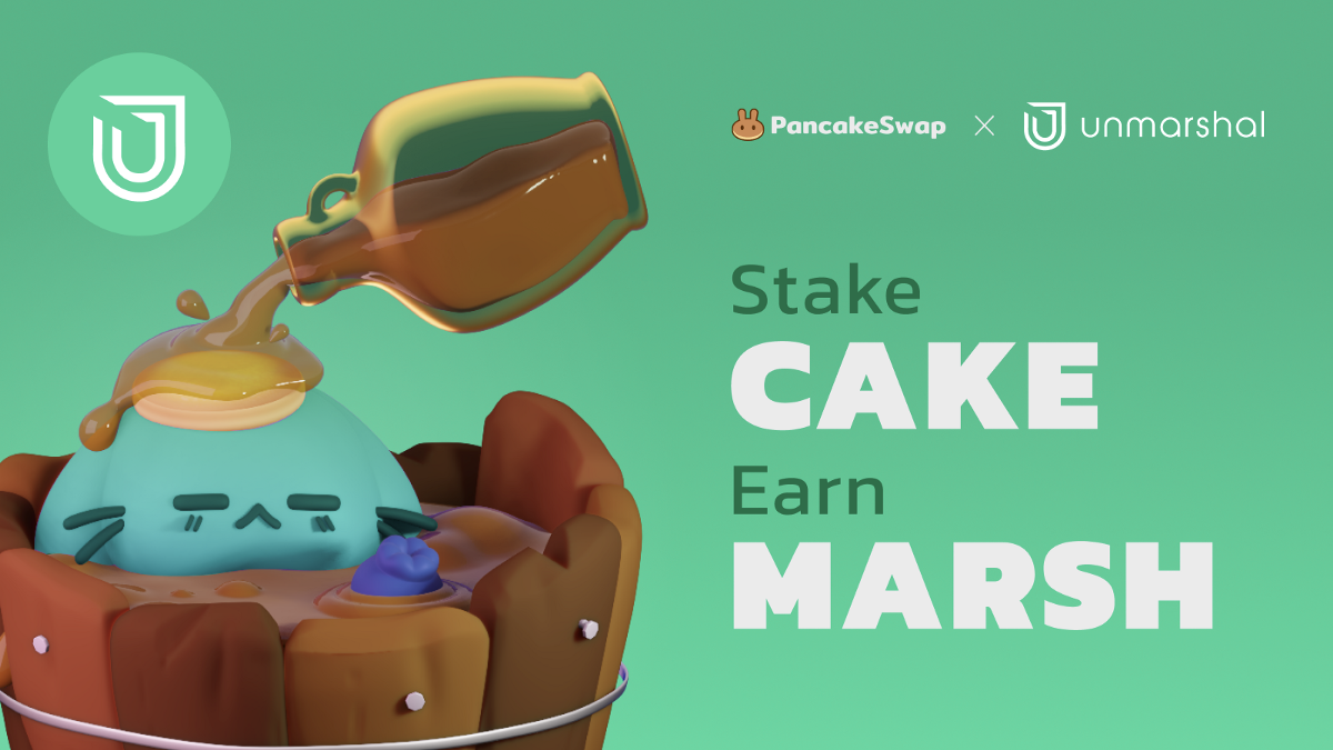 PancakeSwap Welcomes Unmarshal to Syrup Pool!