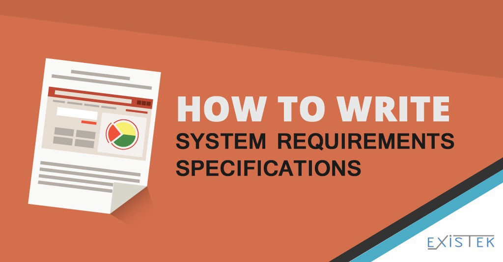 How to Write the System Requirements Specification for Software