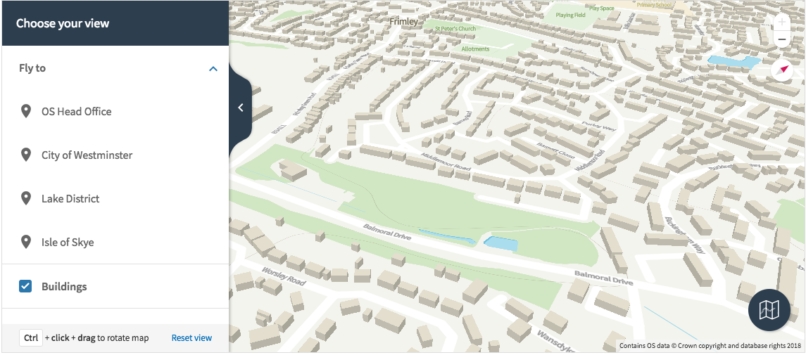 Ordnance Survey launches vector maps for Great Britain