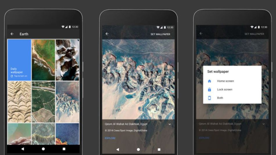 Google Wallpapers Lets You Set Beautiful Daily Wallpapers