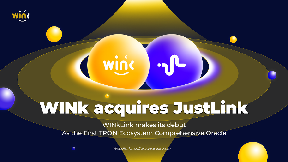 The First TRON Ecosystem Comprehensive Oracle WINkLink Goes Live, Ushering Into a New Era of On and…