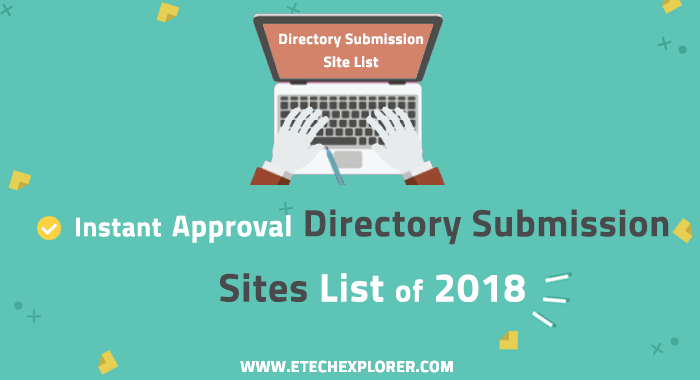 New High PR Instant Approval Directory Submission Site List