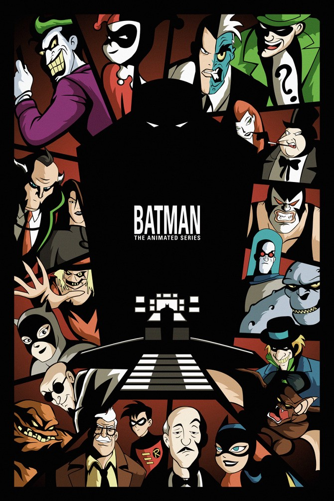 The Closest Thing To A Graphic Novel Celebrating 25 Years Of Batman The Animated Series By Christopher Pierznik The Passion Of Christopher Pierznik Medium