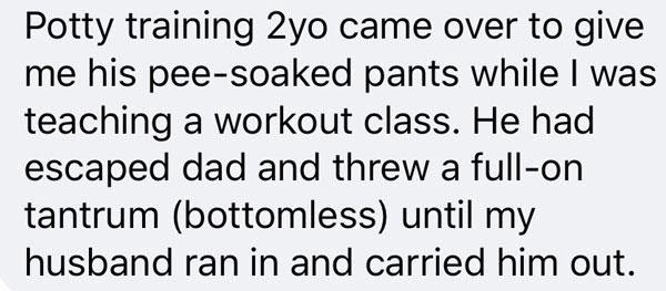 a post on parenting shared on facebook