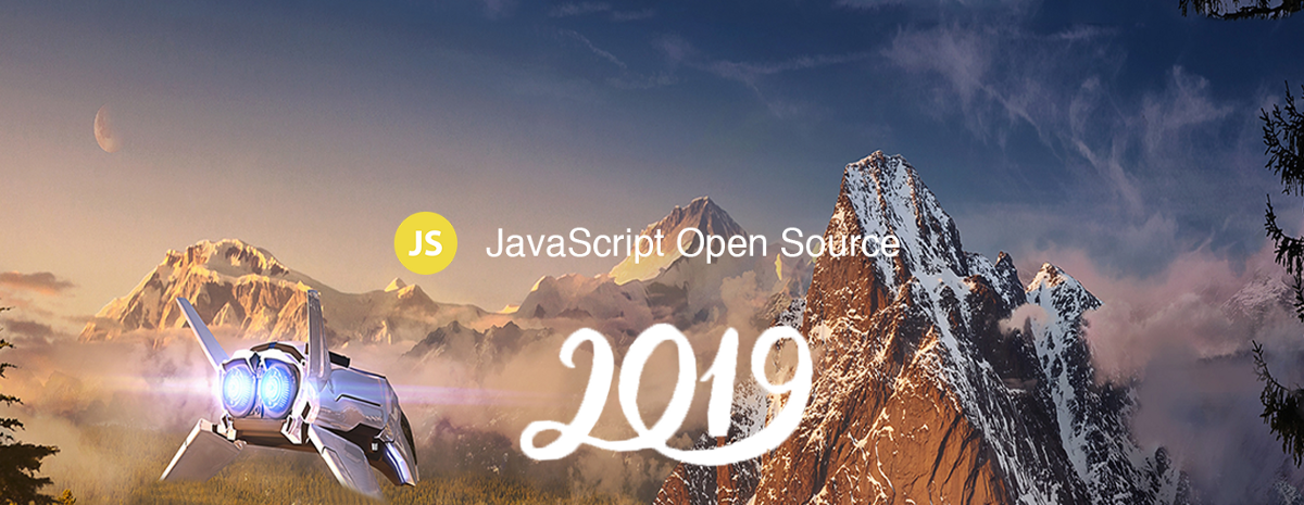 48 Amazing JavaScript Open Source for the Past Year (v.2019)