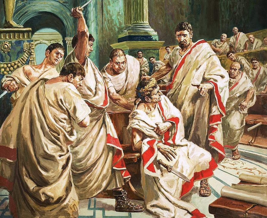 julius caesar biography