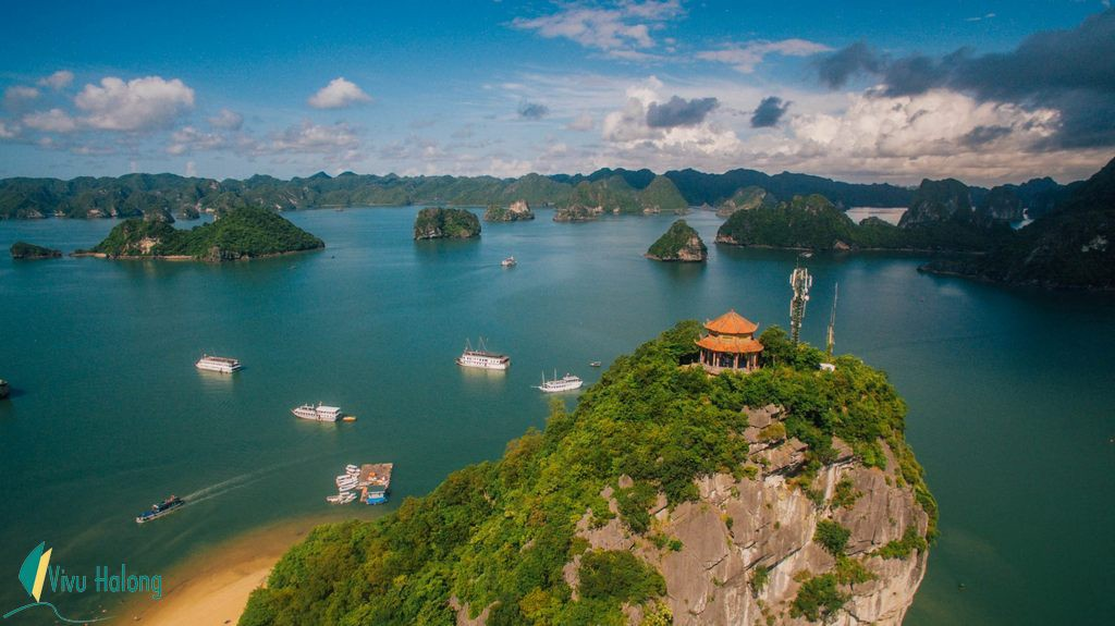 Titov island — The picturesque island of Halong Bay