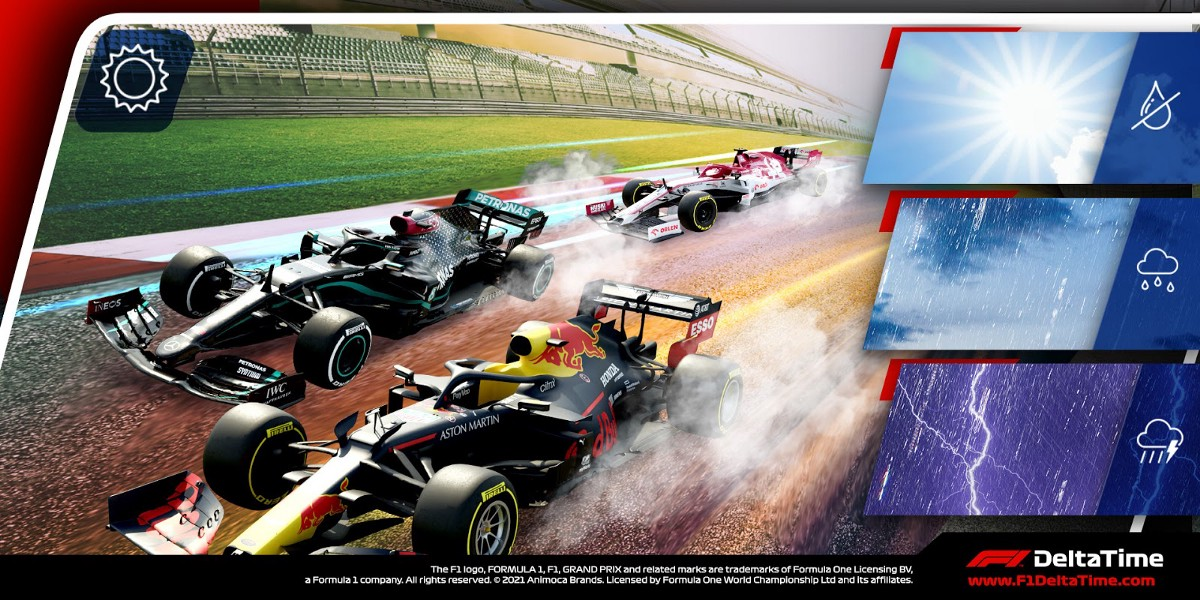 F1® Delta Time Grand Prix™ with another Weather Special is here!