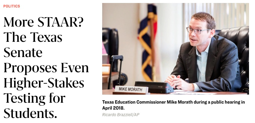Unvetted changes to STAAR test in Senate plan have yet to be