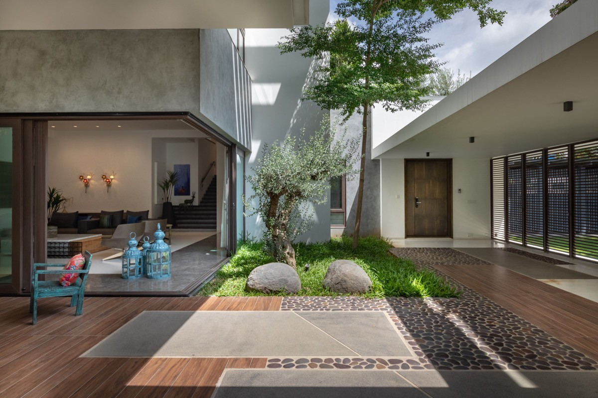 Courtyard An Architectural Element Of Design By Vinita Mathur Medium