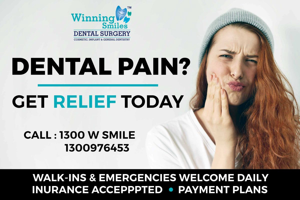 When you required an emergency dentist? - Winning Smiles
