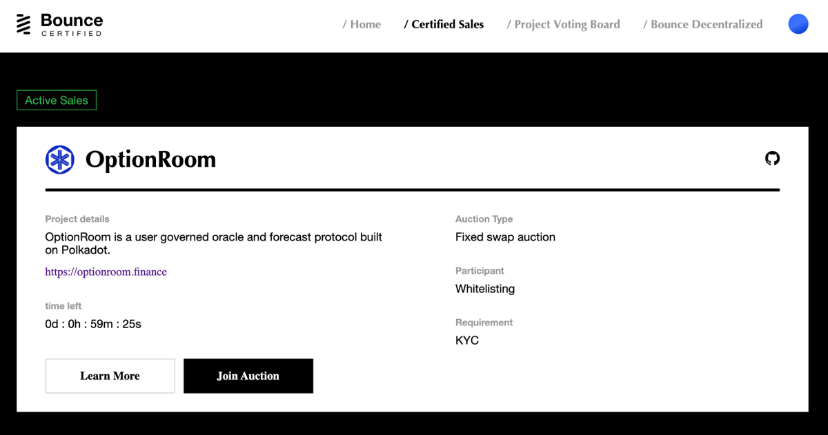 Bounce Certified Auction Participation Guide