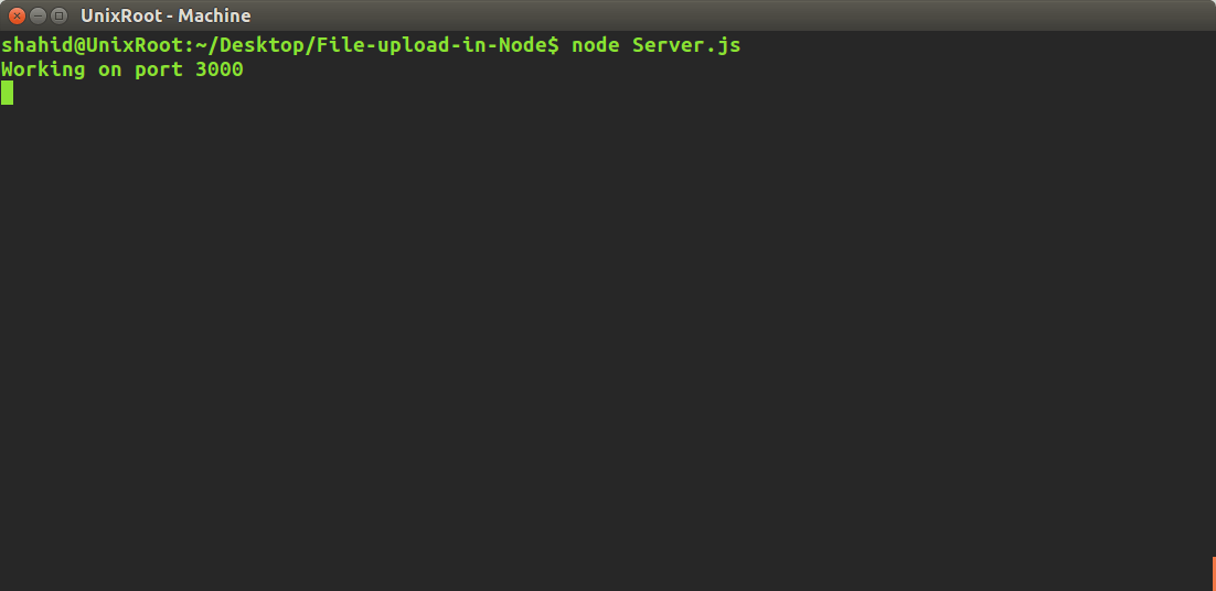 Multiple File upload with Node js - Hensle Joseph - Medium