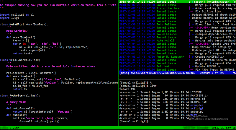Setting up a light-weight Linux-like (non-WSL) terminal