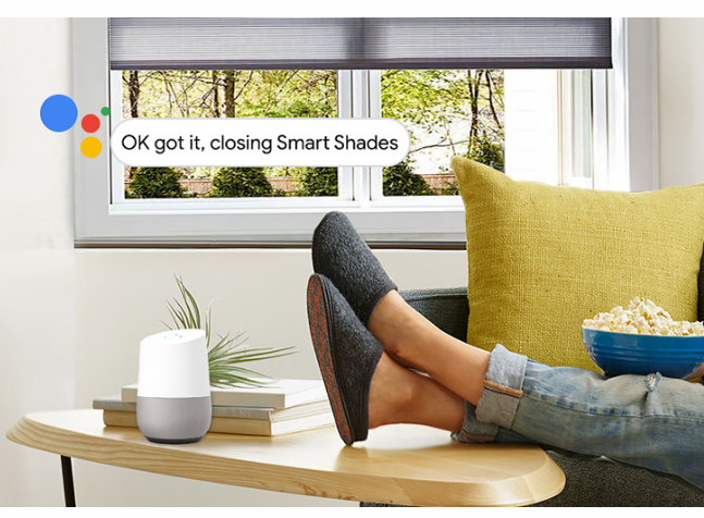 You Can Now Use Google Home to Control Your Window Shades