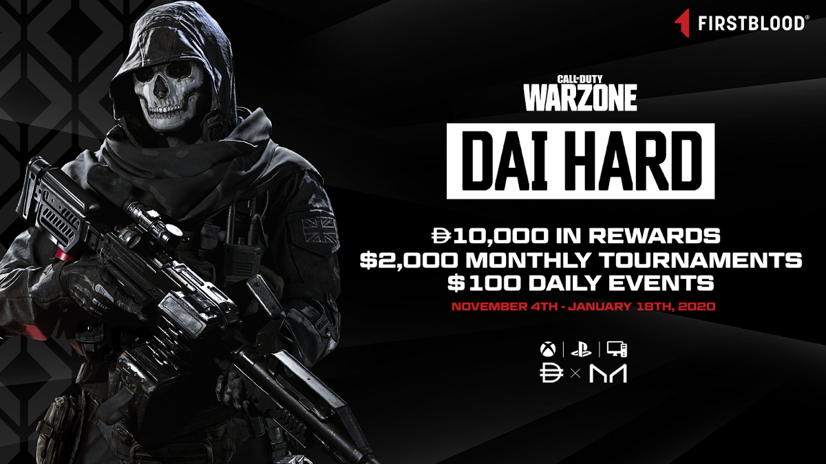 FirstBlood and MakerDAO presents: Call of Duty: Warzone Tournament for Esports Players