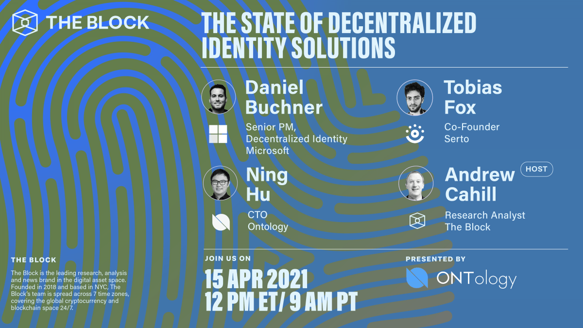 Ontology Collaborates With The Block To Uncover The Decentralized Identity Industry