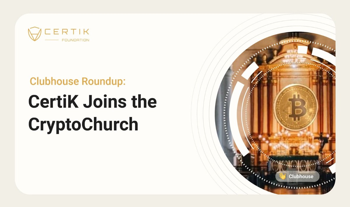 CertiK Joins the CryptoChurch