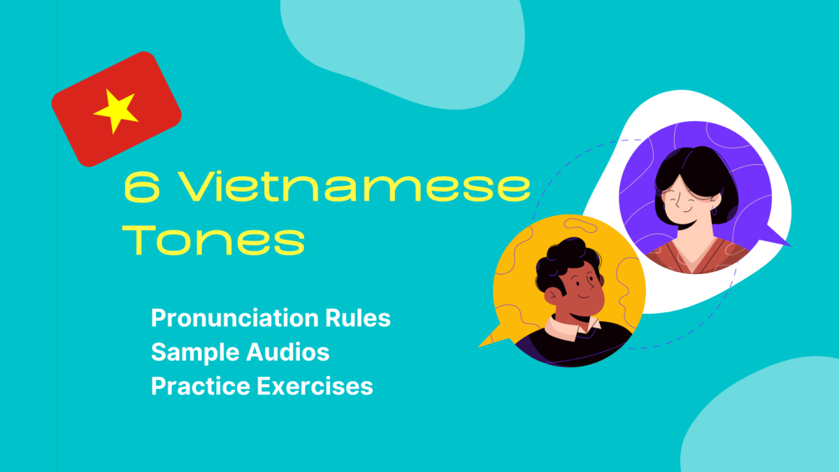 10 Vietnamese Tones And How To Pronounce Them Correctly  by Ling