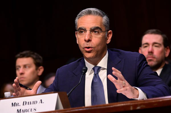 David Marcus, Head of Calibra at Facebook, testified before the Senate Banking Committee on July 16, 2019