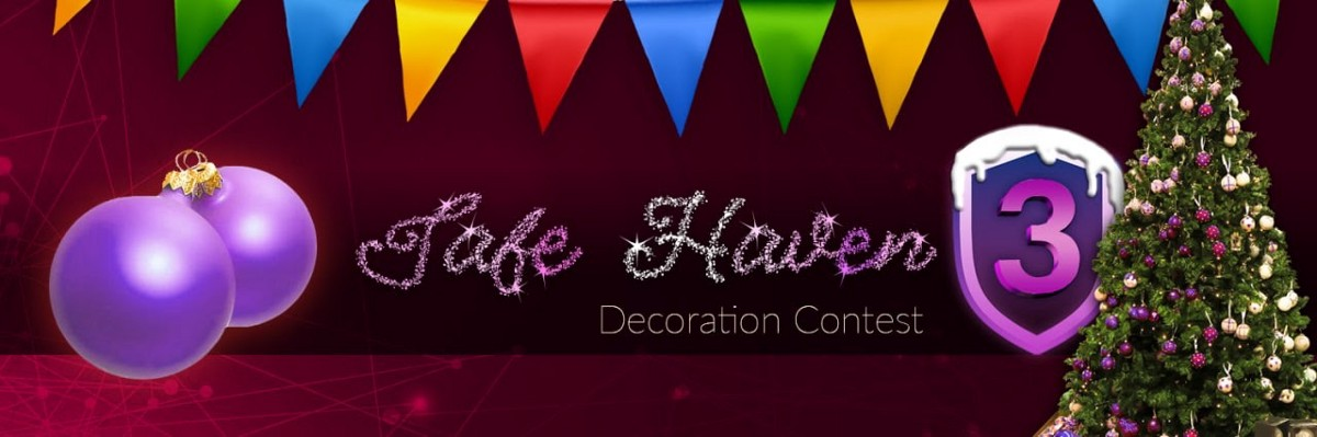 Safe Haven's Holiday Decoration Contest