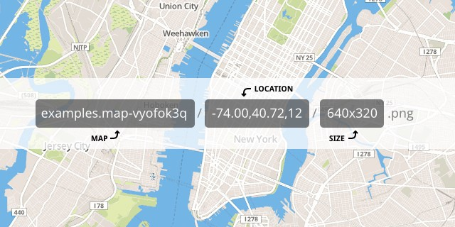 MapBox Static API Launched - Points of interest