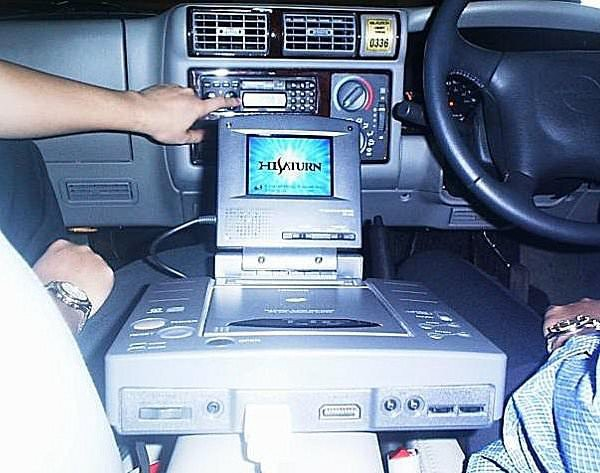 Remember That Time the Sega Saturn Was an In-Car GPS Navigation