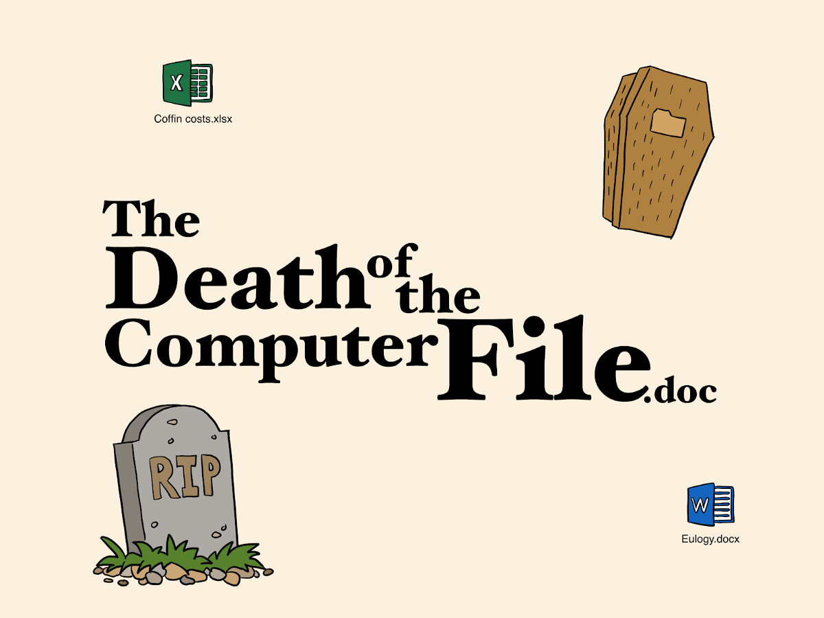 Computer Files Are Going Extinct