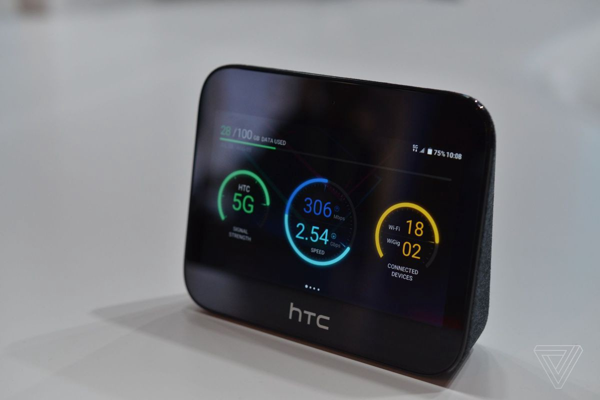 Sprint partners with HTC to launch 5G Hub - Gilbert A