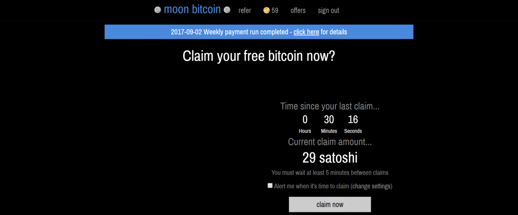 BITCOIN FAUCET — MOON BITCOIN HACK - eCoin4Dummies - Medium