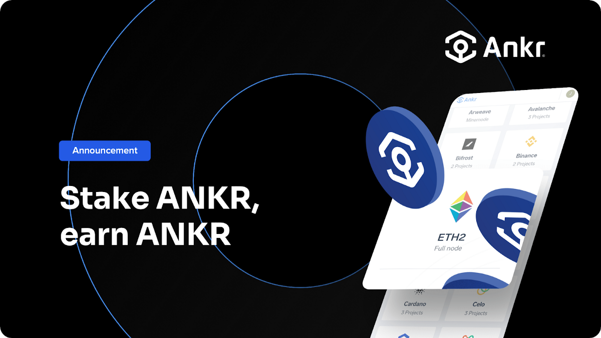 You Can Now Deploy Eth2 Provider Nodes with ANKR Token