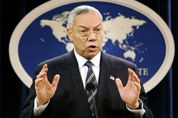Colin Powell was the first African-American Secretary of State. (AP Photo)