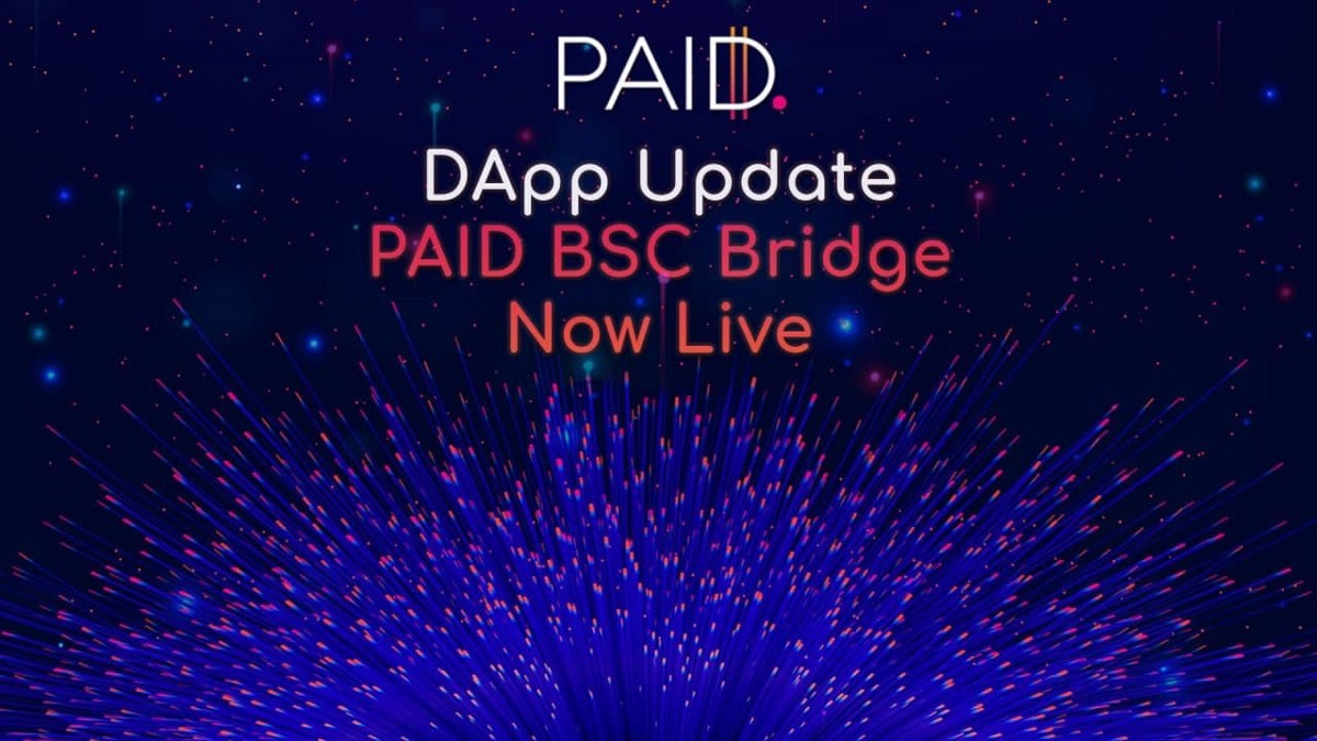 The $PAID BSC Bridge is Now Up and Running!