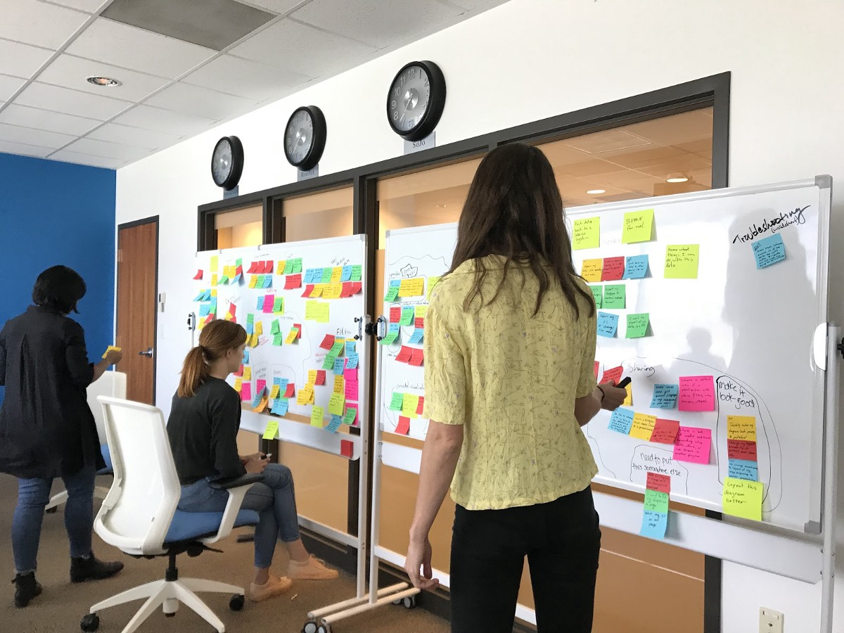 Redesigning the Information Architecture of an Existing Product