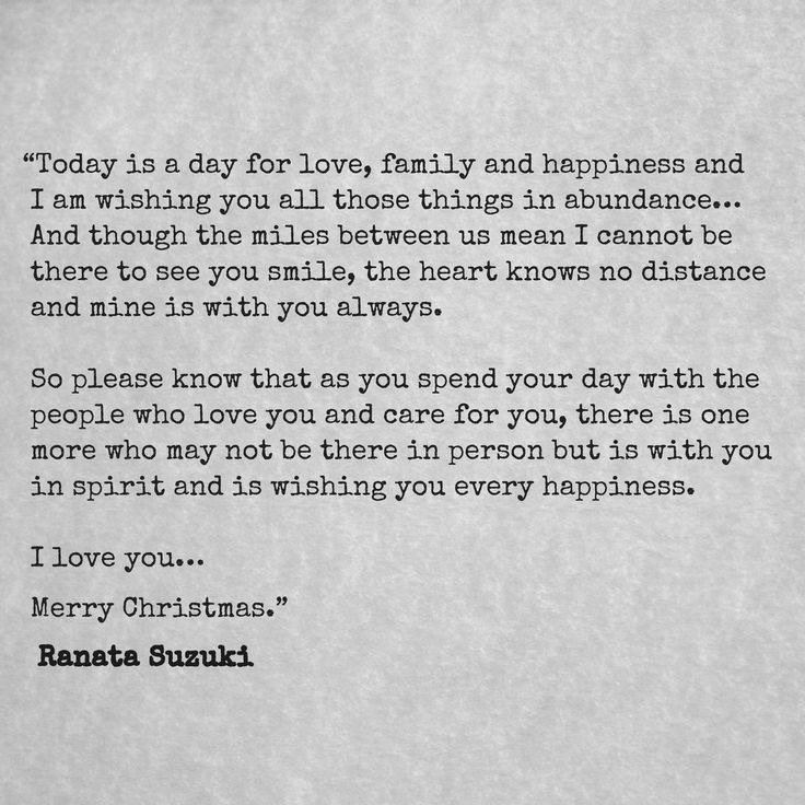Love Quotes : An \'I miss you\' Xmas message — Hall Of Quotes ...