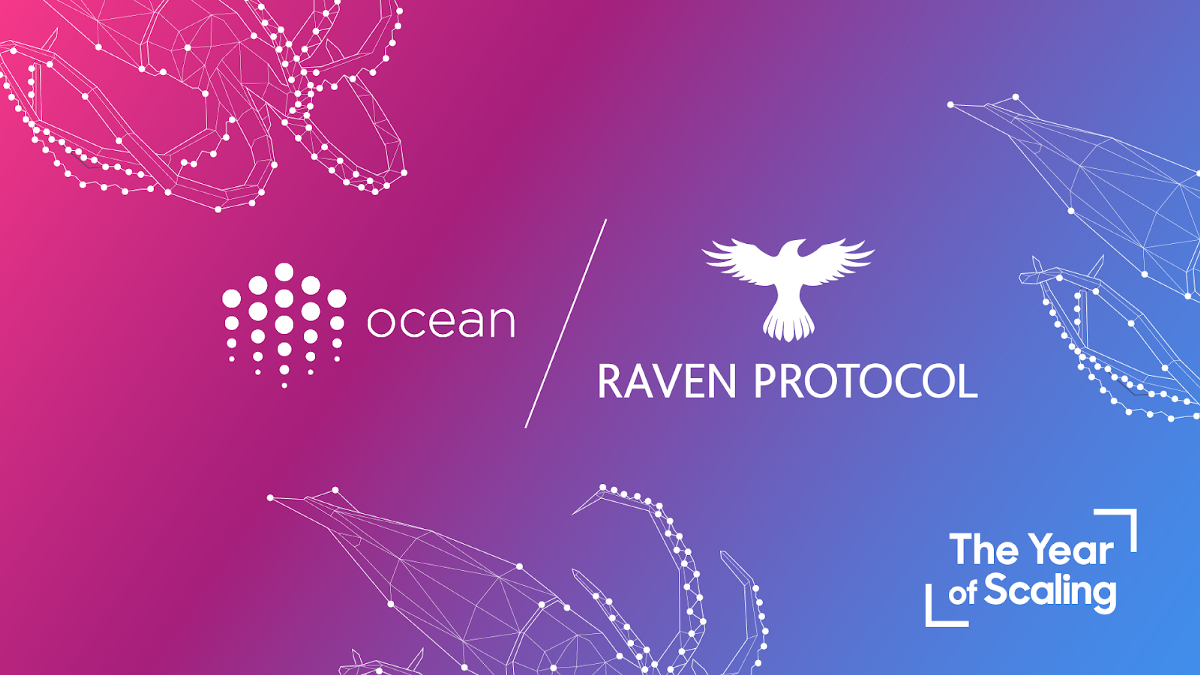 Ocean Protocol and Raven Protocol to add Federated Learning to Ocean Market via Compute-to-Data