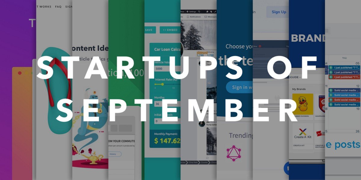 Startups of September - BetaList - Medium