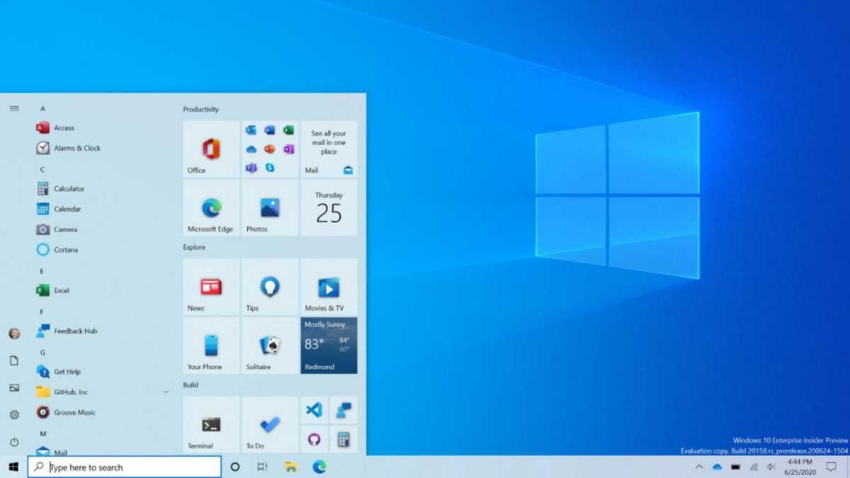 Microsoft Gives the Windows 10 Start Menu a New Look | by PCMag | PC  Magazine | Medium