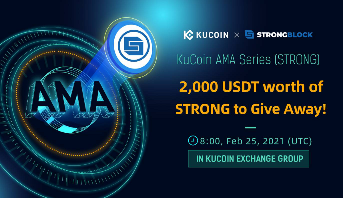 The Growing Need To Incentivize Nodes And Why STRONG Tokens Are The Answer—KuCoin AMA With…