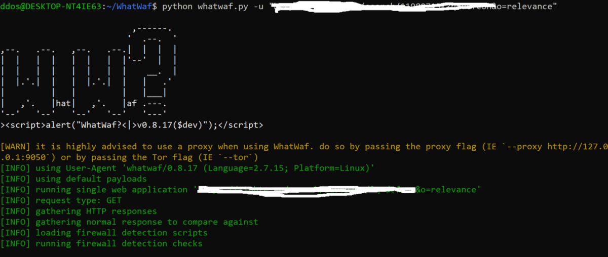 WhatWaf v0 8 17 releases: Detect & bypass web application