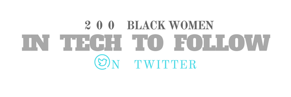 7b4c563f956 200 Black Women in Tech to Follow on Twitter – Hacker Noon